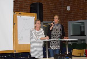 Åsa Lindgren, barnmorska, och Lena Bergens, kurator, på Ungdomsmottagningen tycker att de unga som besöker dem är öppna och har lätt för att prata.