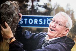 LT träffade geologen Jan Ola Larsson när han var på plats i början av 2000-talet. Nu vill han tillbaka och har fokuset inställt på palladium. Foto: Jan Andersson