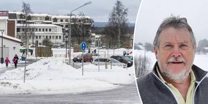Gunnar Grönberg (S) menar att hastighetsskyltningen vid Mariedalsskolan är tillfredsställande.