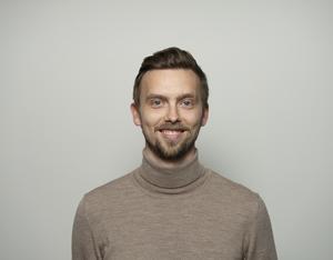 Lasse Rydqvist, meteorolog. Foto: StormGeo