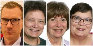 Ola Berglund, Marie Martna, Anne-Marie Falk och Eva Wikenholm.