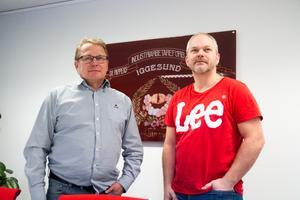 De unga som engagerar sig ska få inflytande förklarar Christer Johansson och Johan Viklund vid Pappers i Iggesund.