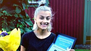 Molly Sjöquist är årets ungdomskulturstipendiat i Nora. Foto: Privat.