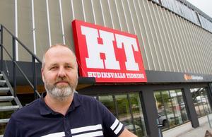 Efter sommaren blir Mattias Guander chefredaktör ochansvarig utgivare för Hudiksvalls Tidning.
