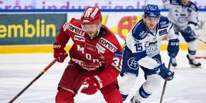 Modo och Leksand är två lag som spelar Slutspelsserien. Foto: Daniel Eriksson/Bildbyrån.