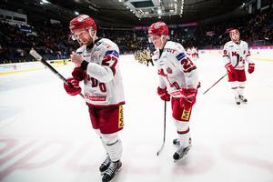 Jesper Sellgren (till höger) har varit en av Modos bästa spelare senaste två säsongerna. Foto: Bildbyrån.
