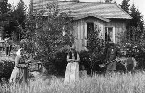 Fotografi av västeråsaren Eva Timm som under slutet av 1800-talet och början av 1900-talet fotodokumenterade landsbygden kring staden.