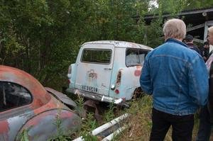 En gammal Ford Taunus kombi drog till sig en del blickar bara för att den var så ovanlig.