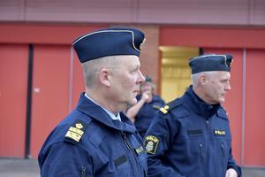 Rune Lindbom, lokalpolisområdeschef i Mora med ansvar för Norra Dalarna.