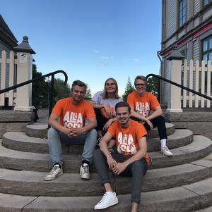 Nybildade Ung Allians ska verka för att byta ut det socialdemokratiska styret, skriver de fyra ungdomsförbundens ordföranden. Bild: Ung Allians.