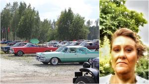 Mikaela Björklund är ordförande i föreningen Riddarhyttemarken, som anordnar marknaden. Foto: Arkiv/Privat