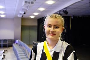 Kristin Sonefors tyckte det var jättekul att ha turnépremiär hemma i Bollnäs.