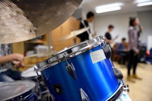 Elever spelar och sjunger i Kulturskolan i Stockholm. Foto: Henrik Montgomery/TT