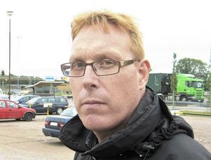 Tomas Kärnström,  ordförande i IF Metall-klubben på Sandvik Materials Technology, SMT. Bild: Jonas Harrysson