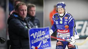 Johan Esplund startade på bänken mot Vänersborg – något han öppet kritiserade efter matchen. Bild: Rikard Bäckman.