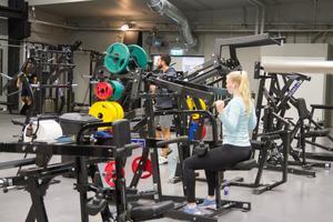 Lördagar är ingen stor träningsdag. Populärast är vardagskvällar i början av veckan, avslöjar Martin Ek.