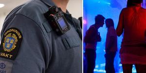 Två kvinnor misstänks för våld mot tjänsteman mot en ordningsvakt. Foto: Jessica Gow/TT, Brennan Linsley/TT