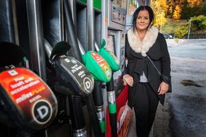 Amanda Lund, ny ägare till Circle K i Arboga.