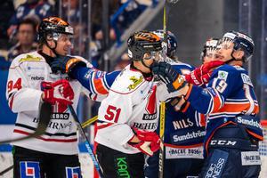 Örebro föll tungt i Växjö. Bild: Jonas Ljungdahl/Bildbyrån
