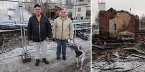 Mikael Eriksson och Susanna Pettersson kommer aldrig att glömma onsdagen den 2 januari 2019 då deras och grannarnas hem förvandlades till aska.