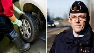 Stefan Westerlund, gruppchef för patrulltrafikpolisen i Sundsvall. Bild: Berit Roald tt/Mårten Englin