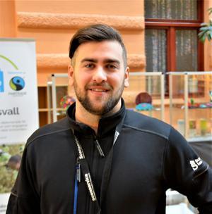 Marco Nylén, 26 år, teknisk samordnare, Granloholm.