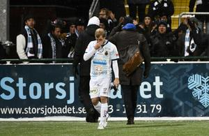 Jonas Lantto deppar efter uttåget ur allsvenskan. Bild: Robert Henriksson / TT