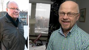 Hans Granlund och Stig Henriksson, båda (V). Foto: Arkiv/montage