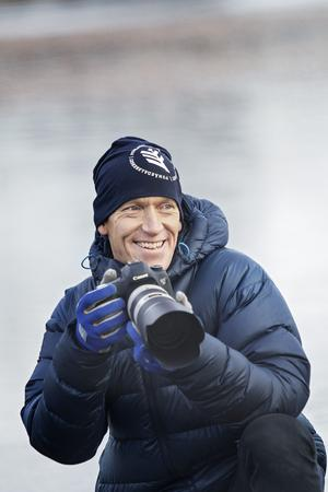 Fotografering är Björn Lans stora hobby, jämte idrott.