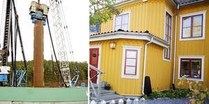 Wendela Hebbes hus kompenseras av Sjöfartsverket för uteblivna intäkter på grunda v slussbygget. Foto: Nicklas Thegerström
