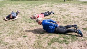 Rygglyft - en bra övning för ryggmusklerna.