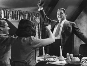 En ung Jussi Björling i en av sina få filmroller,