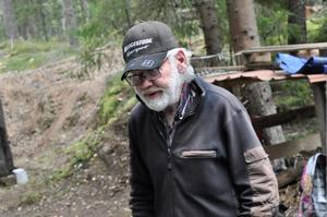 Mats Lindgren är nöjd med årets mila.