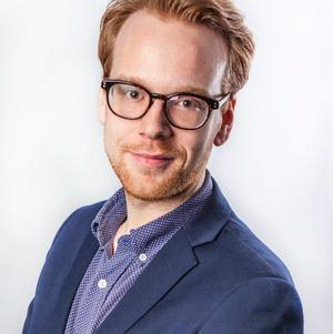 Tobias Pettersson, ordförande i Öppna Moderater Jönköping.