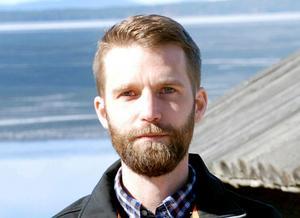 Markus Svensson, hållbarhetsstrateg i Rättviks kommun, berömmer Stiernhööksgymnasiet för satsningen.