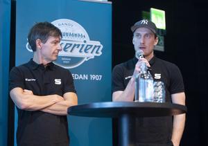 Joakim Forslund och Erik Säfström. Bild: Fredrik Sandberg (TT)