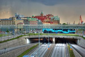 Götatunneln i Göteborg.Foto: Tatiana Afendik