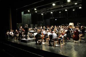 Sandvikens symfoniorkester spelar i Folkets hus. De klassiska konserterna är inte så välbesökta men Ted Gärdestadkonserten i våras mer än fyllde hela salongen.