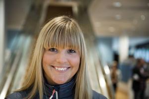 Anna Holmlund är en av de åtta elitidrottare som ingår i projektet.