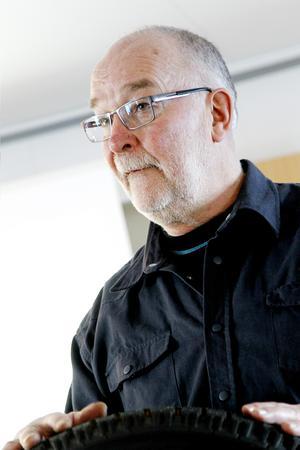 Göran Westman, som är en av arrangörerna från familjens motorklubb berättar att årets halkkörning ställs in.
