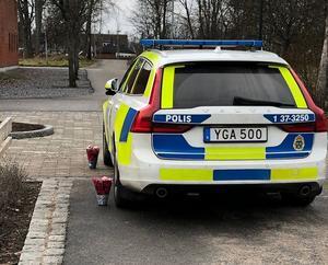Bilden är tagen från polisens Facebook-sida. Foto: Privat.
