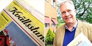 Kalle Östgren, ny chefredaktör på Kvällsstunden.