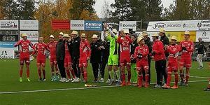 Jubel i Anundsjö efter avancemanget till division 2. Laget som ska spela i tvåan börjar ta form och Emil Thors är senast i raden av klara spelare.