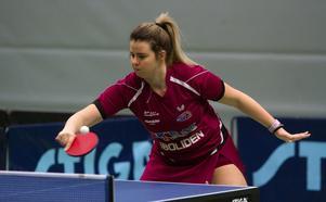 Arina Singeorzan vann tre singelmatcher mot Eslöv.