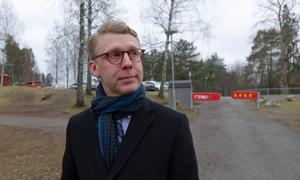 Trafikregionrådet Kristoffer Tamsons (M).
