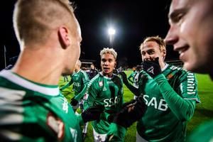 Brage kan hamna i Allsvenskan. Foto: Maxim Thoré (Bildbyrån).