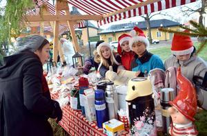 På söndag, den 3 december, är det dags för årets julmarknad i Säter. Bilden togs i samband med julmarknanden 2014.Foto: Berit Zöllner/Arkiv