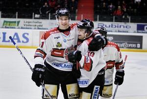 Hedman under sin sista (?) säsong med Modo, 08-09. Foto: Bildbyrån.