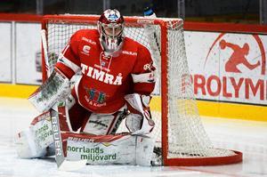 21-årige Brattström stod 15 matcher i Hockeyallsvenskan och hade en räddningsprocent på 91,9. Det är ännu oklart vem han får konkurrera med kommande vinter.