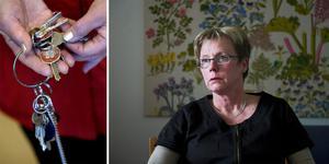 Lena Hurtigh, avdelningschef för ordinärt boende (hemtjänst) inom Örnsköldsviks kommun, menar att det är helt klart att hemtjänstpersonalen brustit i rutinen. Foto: TT, Jennie Sundberg.